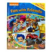 Nickelodeon First Look And Find Fun With Friends Book by PI Kids