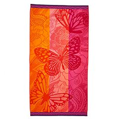 Celebrate Summer Together Butterfly Beach Towel