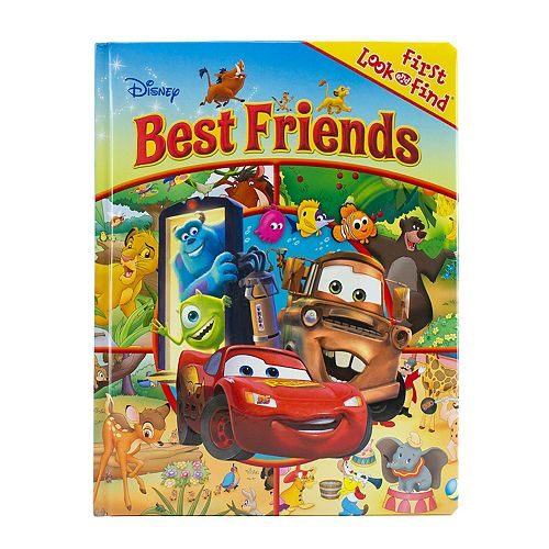 Disney / Pixar First Look And Find Best Friends Book by PI Kids