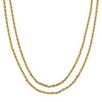 Everlasting Gold 14k Gold Rope Chain - 30 in.
