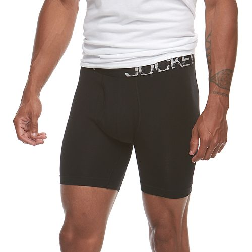 Big & Tall Jockey 2-pack Big Man Active Stretch Midway Briefs