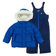 Toddler Girl OshKosh B'gosh® Jacket & Bib Snow Pants Set