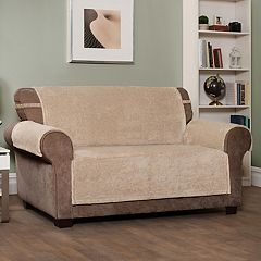 Jeffrey Home Shaggy Waterproof Sofa Slipcover