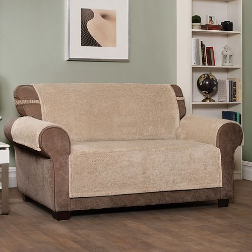 Innovative Textile Solutions Shaggy Waterproof Sofa Slipcover