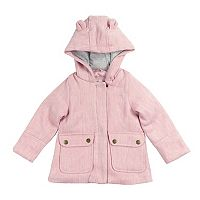 Toddler Girl OshKosh B'gosh® Midweight Lurex Faux Wool Coat