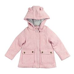 Toddler Girl Carter's Midweight Lurex Faux Wool Coat