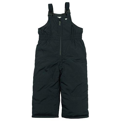 Toddler Girl OshKosh B'gosh® Navy Bib Snow Pants