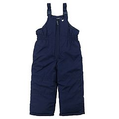 Toddler Girl OshKosh B'gosh® Navy Bib Snow Pants