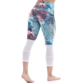 Women's Balance Collection Ava Electric High-Waisted Capri Leggings