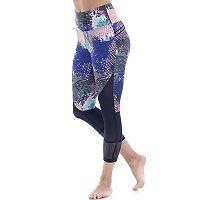 Women's Balance Collection Ava Electric High-Waisted Capri Leggings