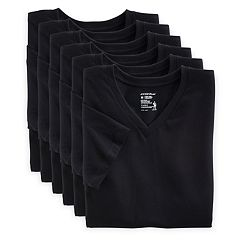 Men's Jockey 6-pack StayNew V-neck Tees
