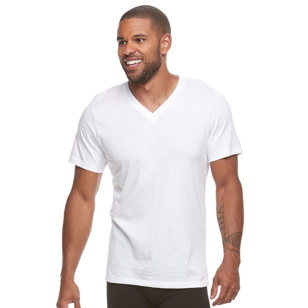 Men's Jockey® 6-pack Value StayNew V-neck Tees