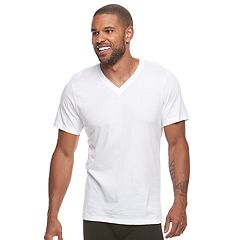Men's Jockey 6-pack Value StayNew V-neck Tees