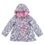 Toddler Girl OshKosh B'gosh® Midweight Floral Fleece-Lined Jacket