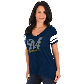 Women's Majestic Milwaukee Brewers Game Day Tee