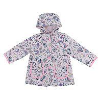 Toddler Girl Carter's Rainy Day Scribble Rain Jacket