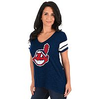 Women's Majestic Cleveland Indians Game Day Tee