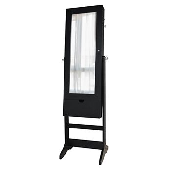 New View Wall, Floor & 3-in-1 Mirror Jewelry Cabinet