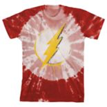Boys 8-20 DC Comics The Flash Tie-Dyed Tee