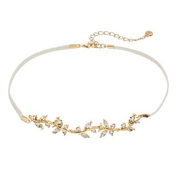 LC Lauren Conrad Vine Cord Choker Necklace