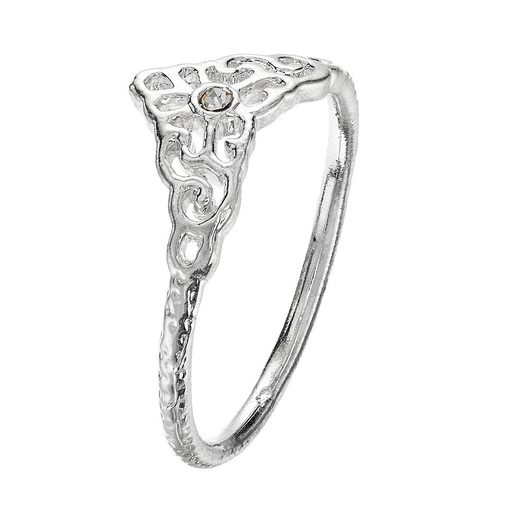 LC Lauren Conrad Filigree Midi Ring
