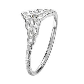 LC Lauren Conrad Filigree Midi Ring