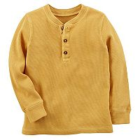 Toddler Boy Carter's Thermal Henley Tee