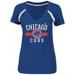 Women's Majestic Chicago Cubs Victory Tee