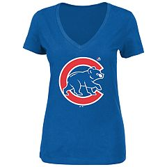 Women's Chicago Cubs Logo Tee