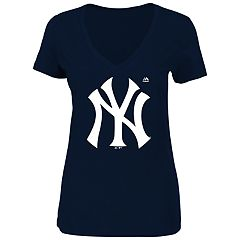 Women's New York Yankees Logo Tee