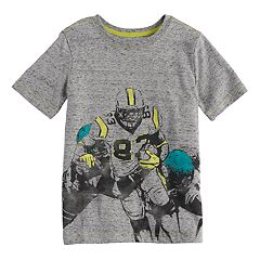 Boys 4-7x SONOMA Goods for Life™ Football Heathered Graphic Tee