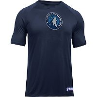 Men's Under Armour Minnesota Timberwolves Primary Logo Tech Tee