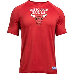 Men's Under Armour Chicago Bulls Primary Logo Tech Tee
