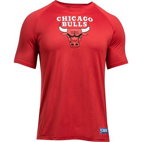 Men's Under Armour Chicago Bulls Primary Logo Tech Tee