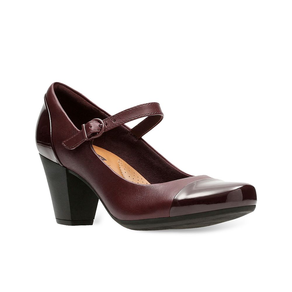 clarks high heels