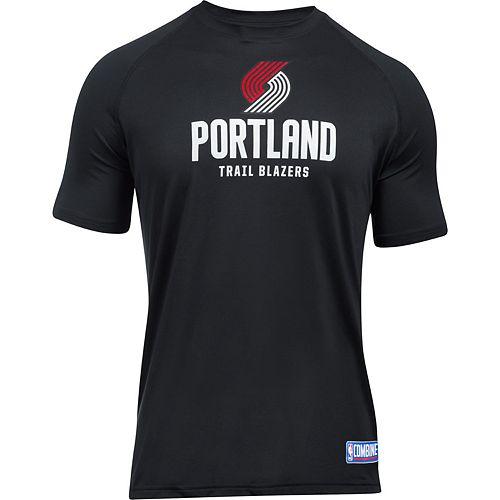 Men's Under Armour Portland Trail Blazers Primary Logo Tech Tee