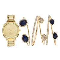 Women's Watch & Bangle Bracelet Set