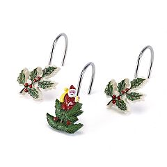 Avanti Spode Tree Shower Curtain Hooks