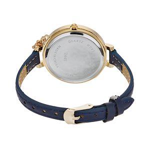 Women's Crystal Hamsa Charm Watch & Beaded Stretch Bracelet Set