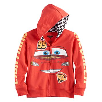 Disney / Pixar Cars Boys 4-7 Lightning McQueen Zip Hoodie