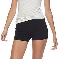 Junior's SO® Black Bike Short Shortie