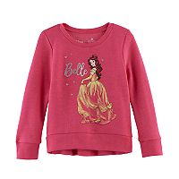 Disney's Beauty & The Beast Toddler Girl Belle High-Low Fleece Pullover Top by Jumping Beans®
