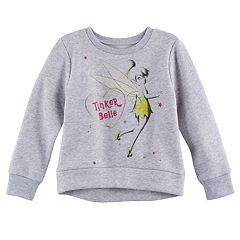 Disney's Tinker Bell Toddler Girl High-Low Fleece Pullover Top by Jumping Beans®