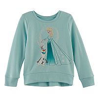 Disney's Frozen Toddler Girl Elsa & Olaf High-Low Fleece Pullover Top by Jumping Beans®