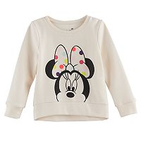 Disney's Minnie Mouse Toddler Girl High-Low Fleece Pullover Top by Jumping Beans®