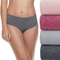 Fruit of the Loom Ultra Flex 4-pack Low-Rise Brief Panties 4DDFLBS