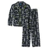 Boys 4-16 Jellifish 2-Piece Pajama Set