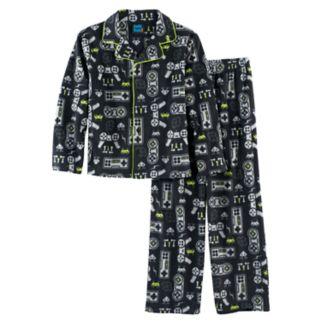 Boys 4-16 Jelli Fish 2-Piece Pajama Set