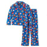Boys 4-16 Jelli Fish 2-Piece Pajama Set
