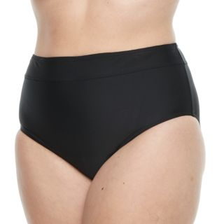 Plus Size Croft & Barrow® Solid Semi High-Waisted Scoop Bottoms